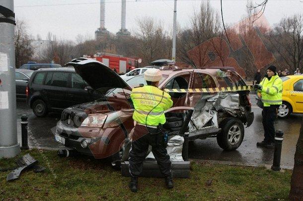 Видео луческу попал в аварию